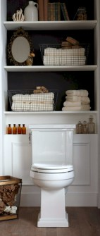 Creative storage bathroom ideas for space saving (32)