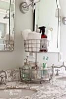 Creative storage bathroom ideas for space saving (44)