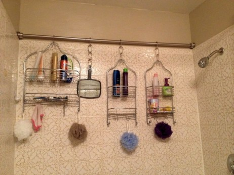 Creative storage bathroom ideas for space saving (45)