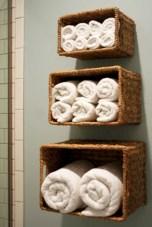 Creative storage bathroom ideas for space saving (54)