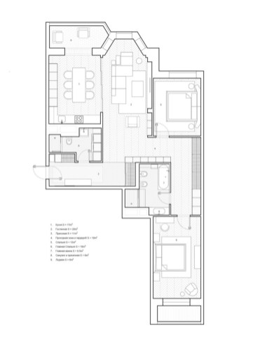 Creative two bedroom apartment plans ideas 27