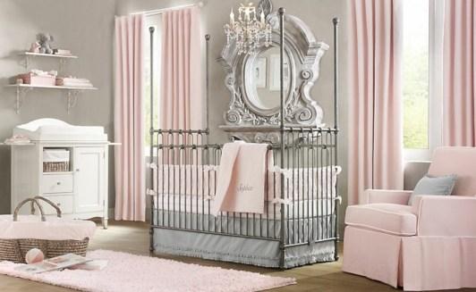 Cute baby girl bedroom decoration ideas 02
