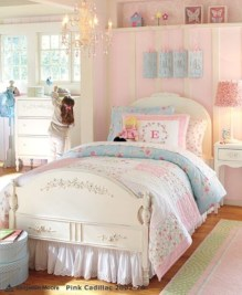 Cute baby girl bedroom decoration ideas 06