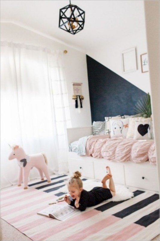 Cute baby girl bedroom decoration ideas 09