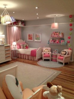 Cute baby girl bedroom decoration ideas 10