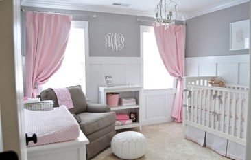 Cute baby girl bedroom decoration ideas 21