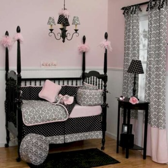 Cute baby girl bedroom decoration ideas 28
