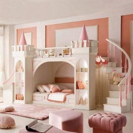 Cute baby girl bedroom decoration ideas 36