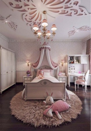 Cute baby girl bedroom decoration ideas 37