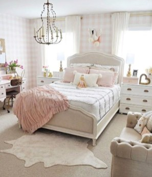 Cute baby girl bedroom decoration ideas 39