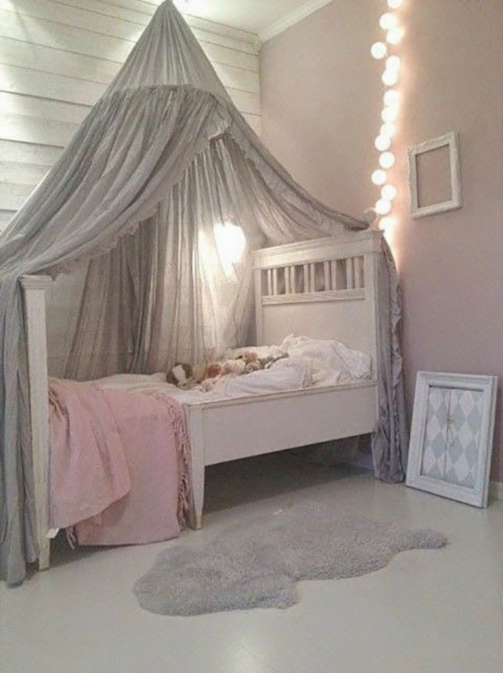 Cute baby girl bedroom decoration ideas 43