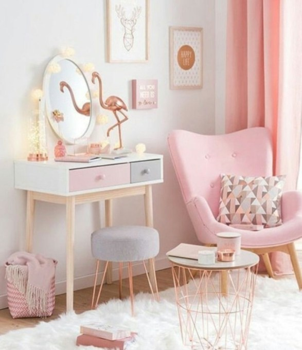 Cute baby girl bedroom decoration ideas 49