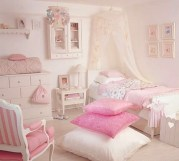 Cute baby girl bedroom decoration ideas 53