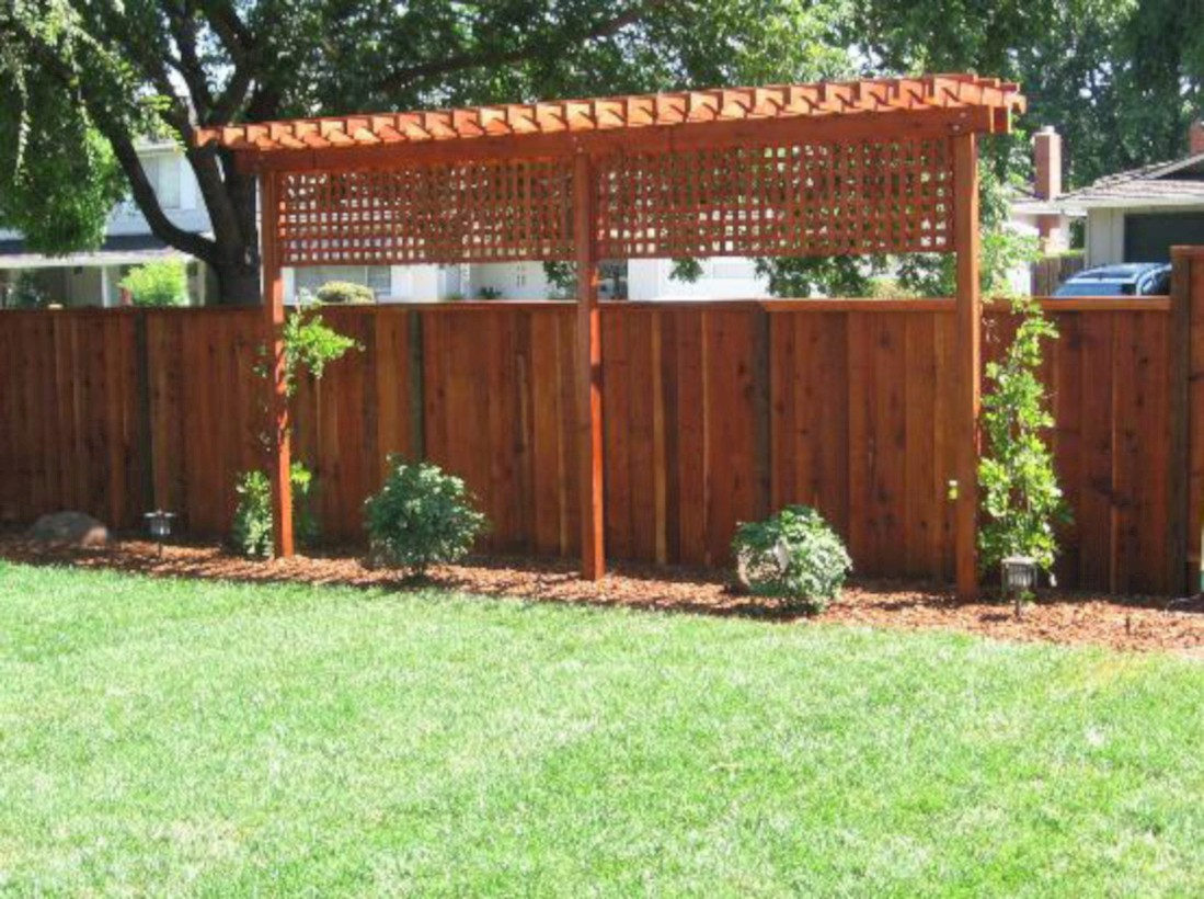 diy backyard privacy fence ideas on a budget 17