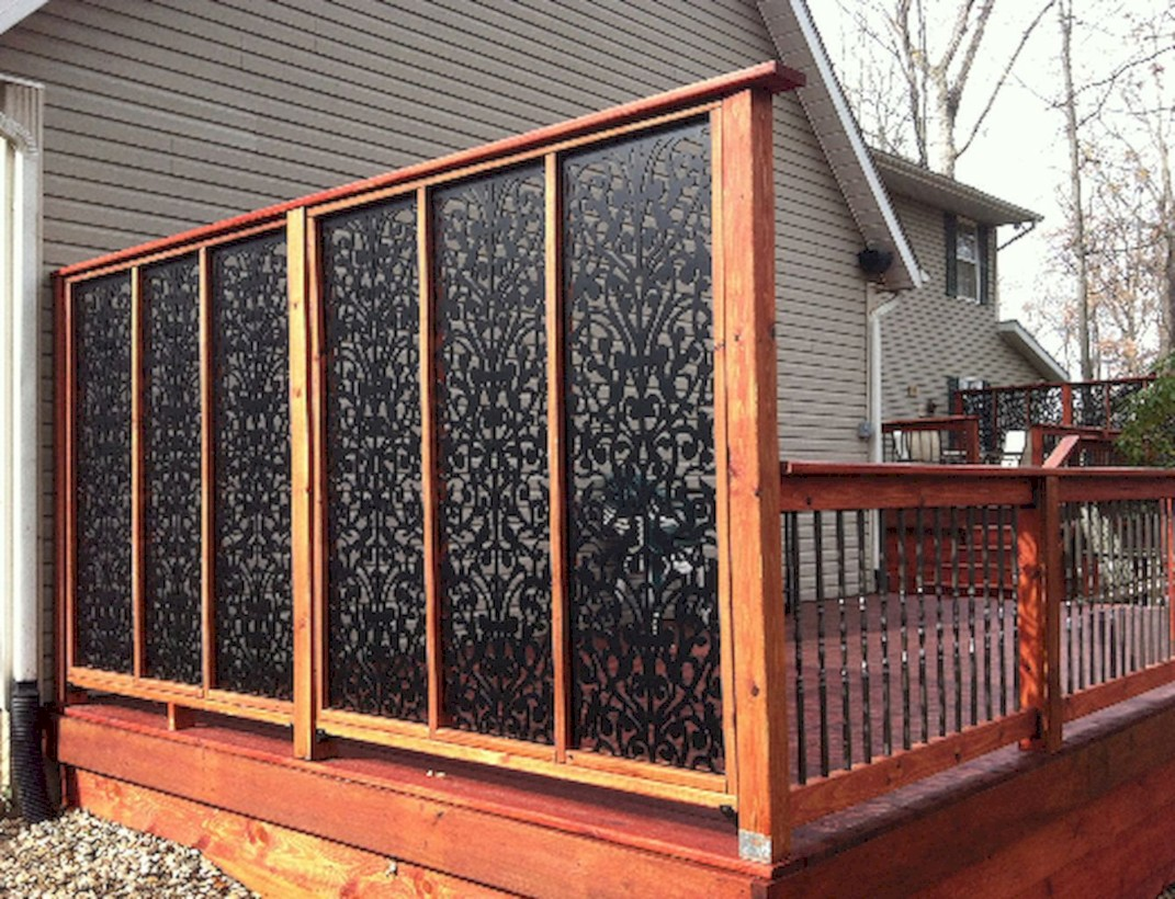 Diy backyard privacy fence ideas on a budget (36)
