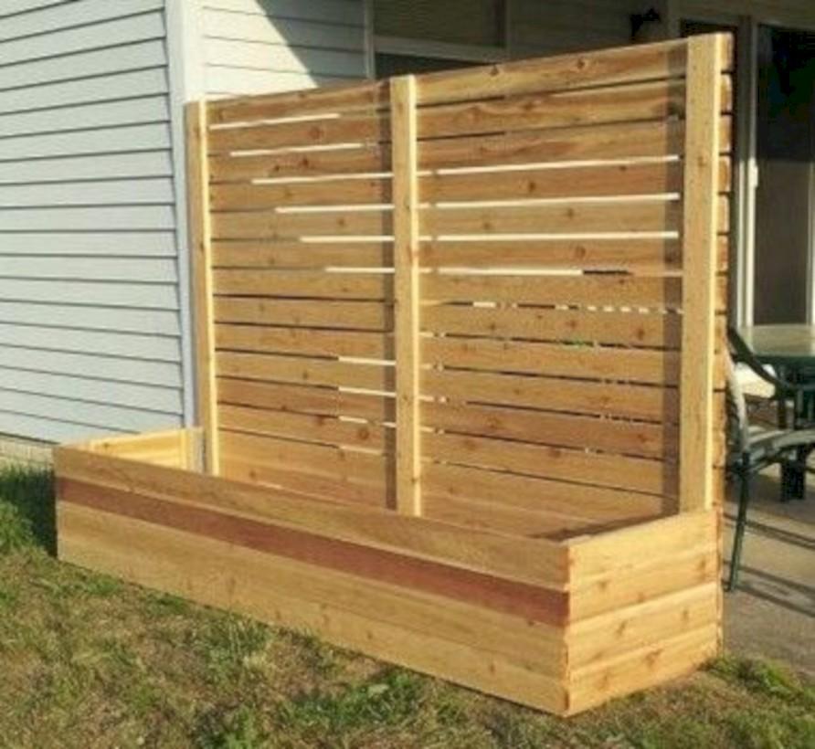 diy backyard privacy fence ideas on a budget 38