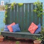 Diy backyard privacy fence ideas on a budget (45)