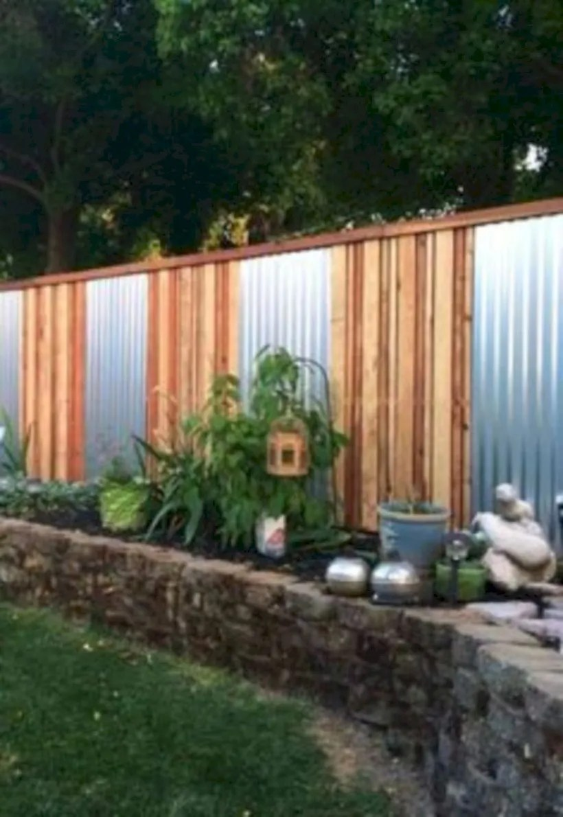 Diy backyard privacy fence ideas on a budget (51)