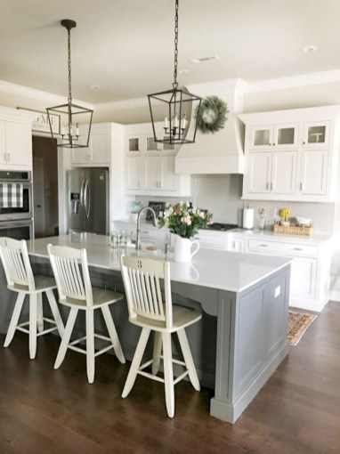 Decorate awesome kitchen with farmhouse cabinet (25)
