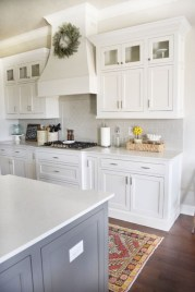 Decorate awesome kitchen with farmhouse cabinet (38)