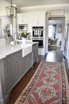 Decorate awesome kitchen with farmhouse cabinet (46)