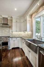 Decorate awesome kitchen with farmhouse cabinet (60)