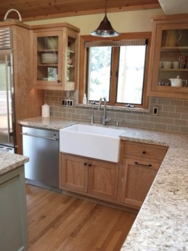 Decorate awesome kitchen with farmhouse cabinet (62)