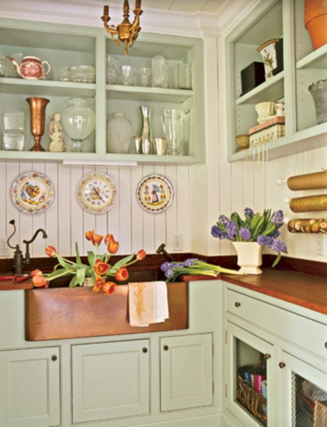 Decorate awesome kitchen with farmhouse cabinet (66)