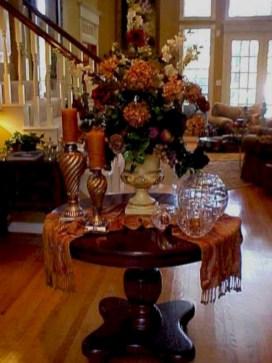 Elegant halloween living room decoration ideas 07