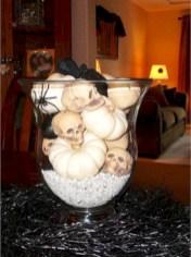 Elegant halloween living room decoration ideas 10