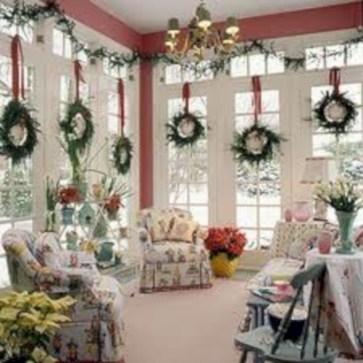 Elegant halloween living room decoration ideas 15