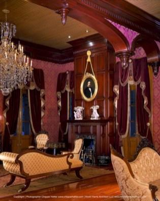 Elegant halloween living room decoration ideas 16