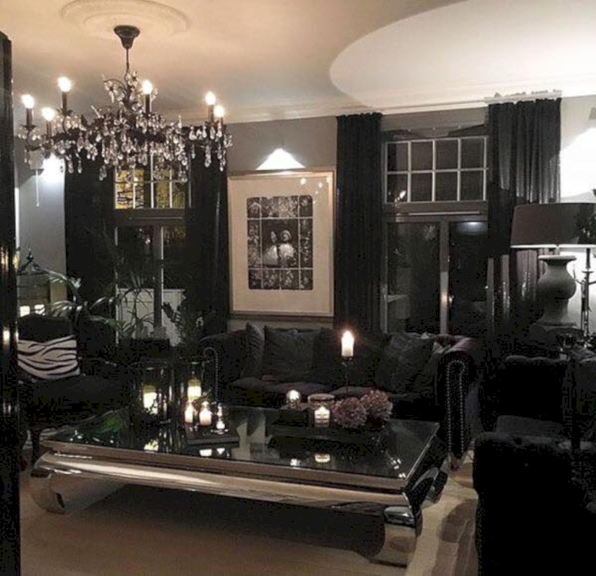 Elegant Halloween Living Room Decoration Ideas 17 Part 63