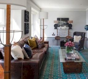 Elegant halloween living room decoration ideas 28