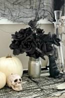 Elegant halloween living room decoration ideas 39