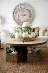 Elegant halloween living room decoration ideas 50