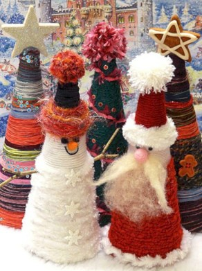 Fun and cute colorful christmas decoration ideas 07