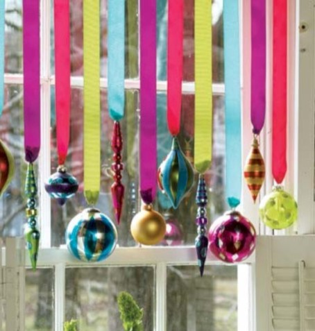 Fun and cute colorful christmas decoration ideas 15