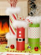 Fun and cute colorful christmas decoration ideas 24