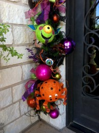 Fun and cute colorful christmas decoration ideas 43