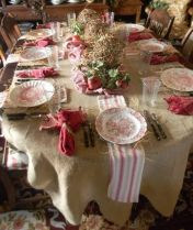 Gorgeous rustic christmas table settings ideas 1 1