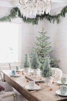 Gorgeous rustic christmas table settings ideas 12 12