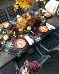 Gorgeous rustic christmas table settings ideas 2 2