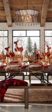 Gorgeous rustic christmas table settings ideas 24 24