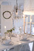 Gorgeous rustic christmas table settings ideas 35 35
