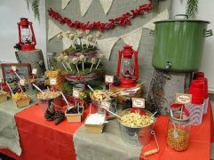 Gorgeous rustic christmas table settings ideas 37 37