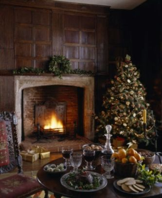 Gorgeous rustic christmas table settings ideas 46 46