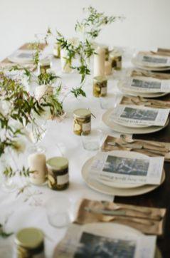 Gorgeous rustic christmas table settings ideas 55 55