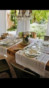 Gorgeous rustic christmas table settings ideas 6 6