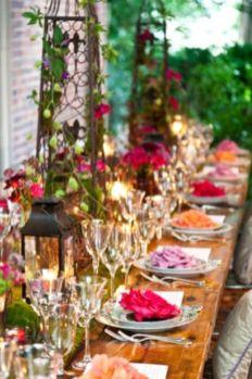 Gorgeous rustic christmas table settings ideas 7 7